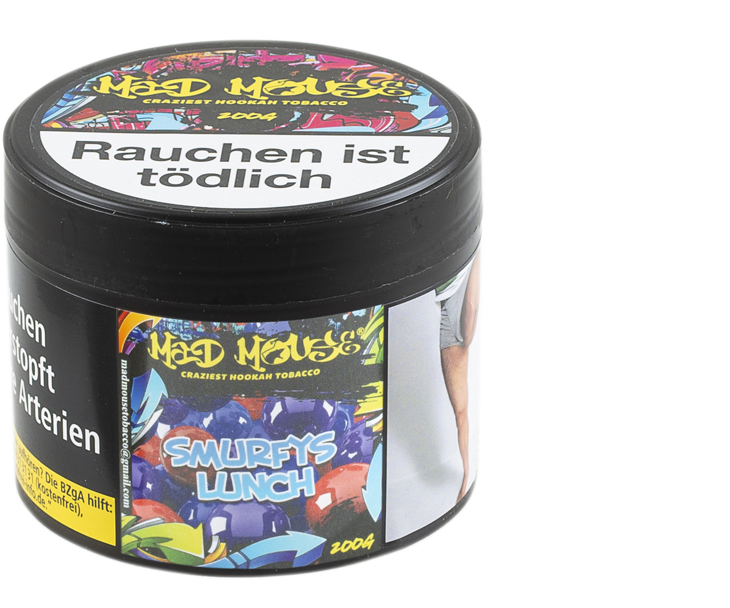 Mad Mouse Tobacco - Smurfys Lunch - 200g