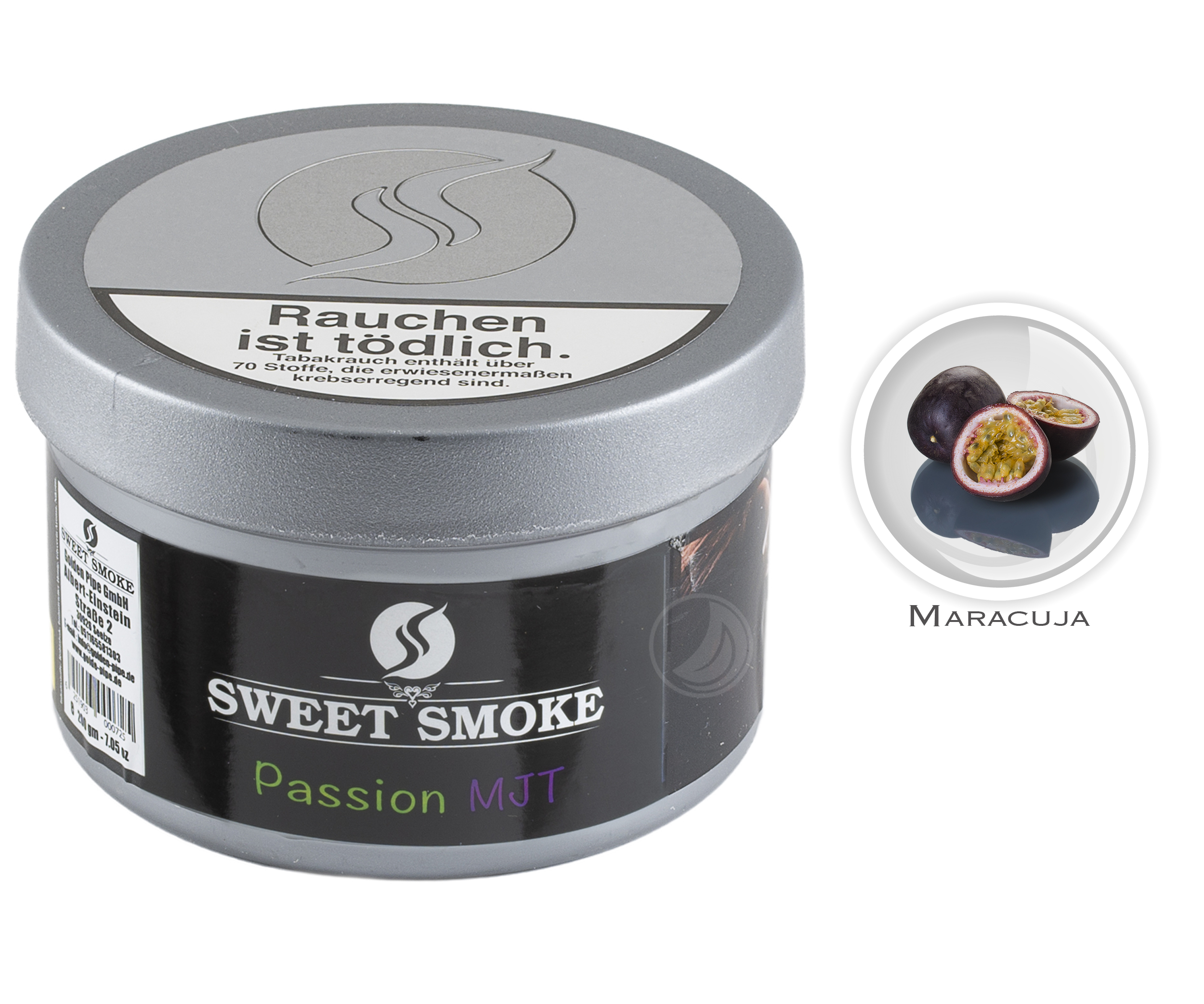 Sweet Smoke 200g - Passion MJT