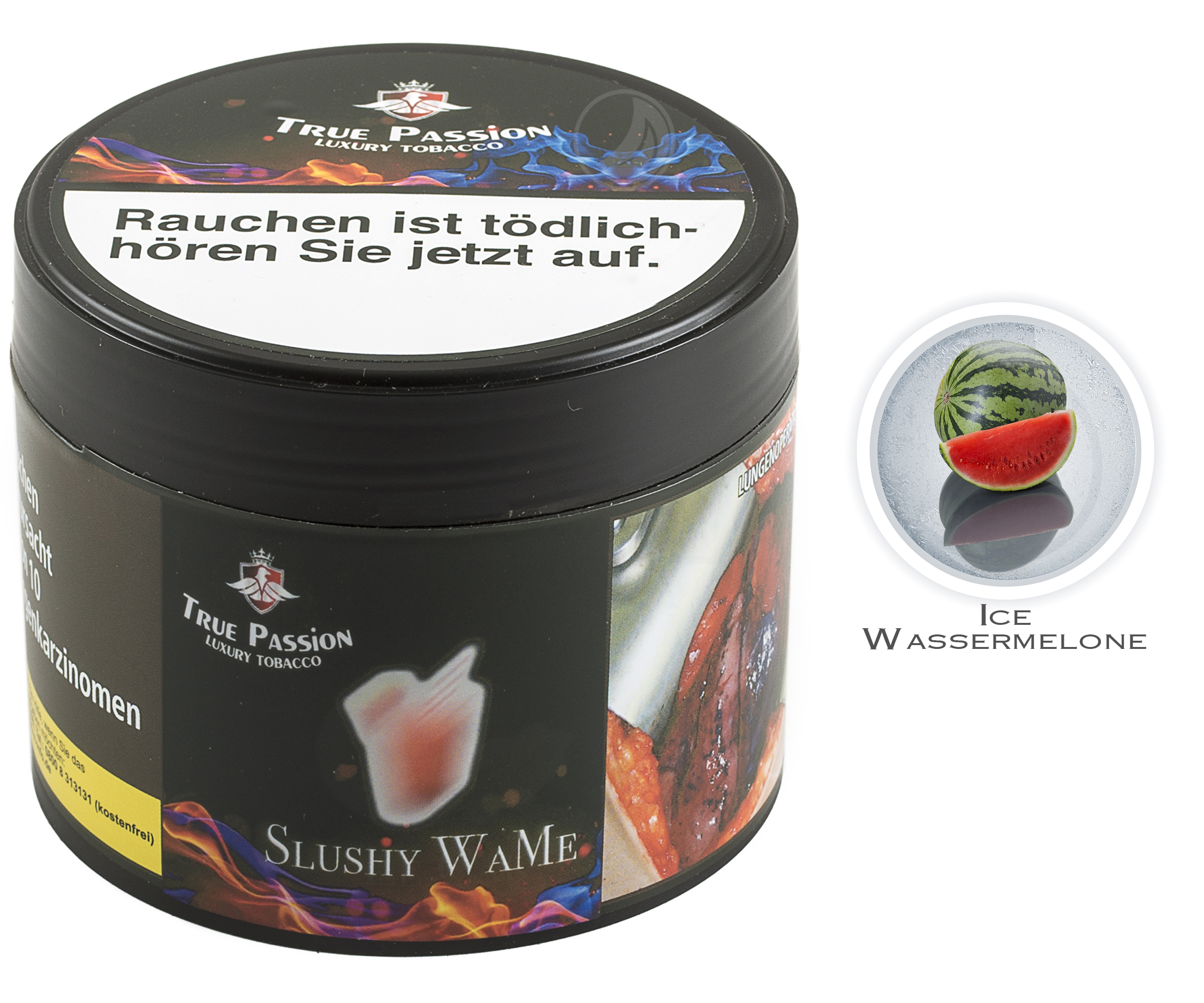 True Passion Tobacco 200g - Slushy WaMe