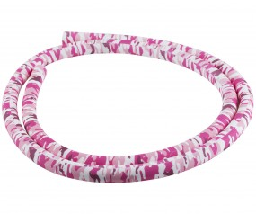 Silikonschlauch Soft-Touch (150 cm - pink black camo)