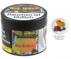 Mad Mouse Tobacco - Red Fingers - 200g
