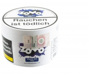 Zomo Tobacco 200g - Strong Blu