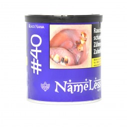 NameLess Tabak 200g - #40 Black Nana
