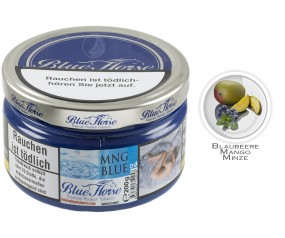 Blue Horse Tobacco - Mng Blue (200g Dose)