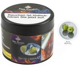 True Passion Tobacco 200g - Arctic Green Ap