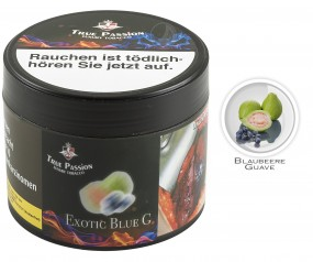 True Passion Tobacco 200g - Exotic Blue G
