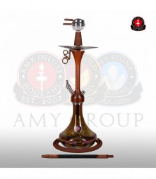 Amy Shisha Woodjar 082 - brown brown