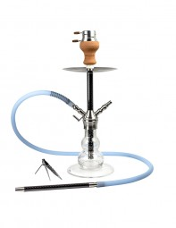 Smokah Shisha Codex Carbon Glow in the Dark - Blue
