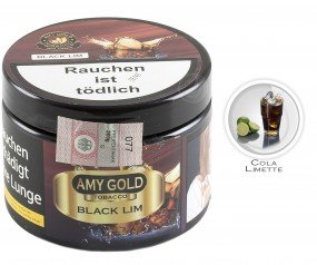 Amy Gold Black Lim (Dose 200g)