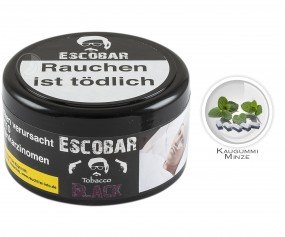 Escobar Tobacco - BLACK (200g Dose)