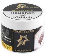 Rocket Star Tabak - 82 Black Ac@i 200g