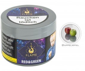 Flame Tobacco - Red & Green - 200g