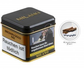 Milano Tabak 200g - M2 Brown Gold