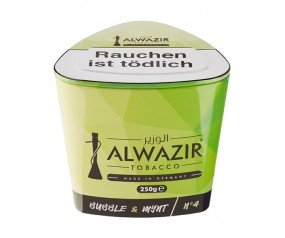 Al Wazir Tabak 250g - No. 4 Bubble & Mynt