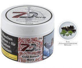 7Days - Cold Sweet Bery (Dose 200g)