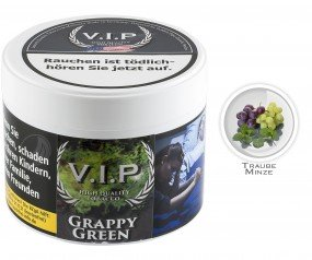 V.I.P. Tobacco - Grappy Green 200g Dose