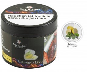 True Passion Tobacco 200g - California Lemo
