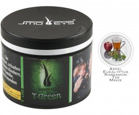 Smokeys Tobacco - T-Green (Dose 200g)