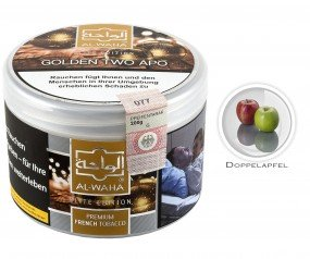 Al Waha Tabak Golden Two Apo (Dose 200g) - R