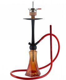 Amy Curl Klick II - 70 cm - red - RS black powder