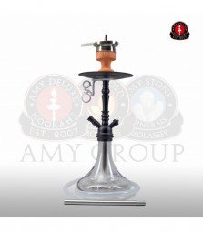 Amy Middle Globe - clear - RS black powder