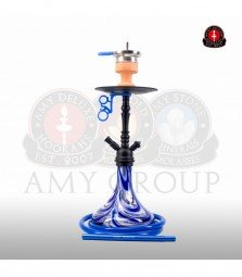 Amy Middle Globe - blue - RS black powder