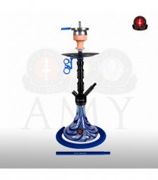 AMY Alu Sierra S 073.02 - black chrome blue