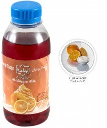 Al Waha Molasses Mix - Orange Cream - 250ml