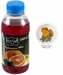 Al Waha Molasses Mix - Mint & Orange - 250ml