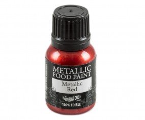 Rainbow Dust Metallic Paint - Red