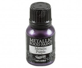 Rainbow Dust Metallic Paint - Purple