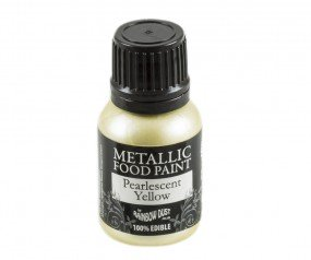 Rainbow Dust Metallic Paint - Pearlescent Yellow