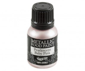 Rainbow Dust Metallic Paint - Pearlescent Baby Pink