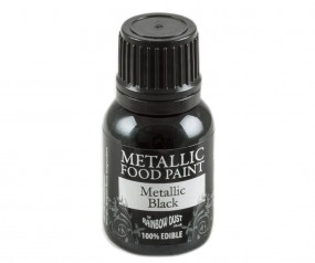Rainbow Dust Metallic Paint - Black