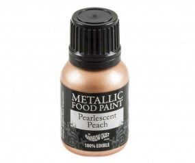 Rainbow Dust Metallic Paint - Pearlescent Peach