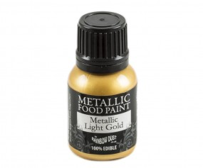 Rainbow Dust Metallic Paint - Light Gold