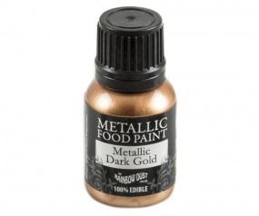 Rainbow Dust Metallic Paint - Dark Gold